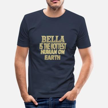Bella Bella - Men's Slim Fit T-Shirt