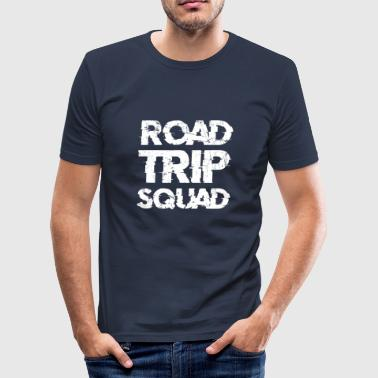 Flytning Road Trip Squad - Herre Slim Fit T-Shirt