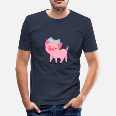 Guarras Comic Princesa guarra - Camiseta ajustada hombre