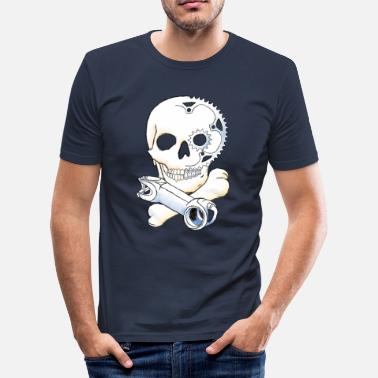 Ableser Sir Stemalot - Männer Slim Fit T-Shirt