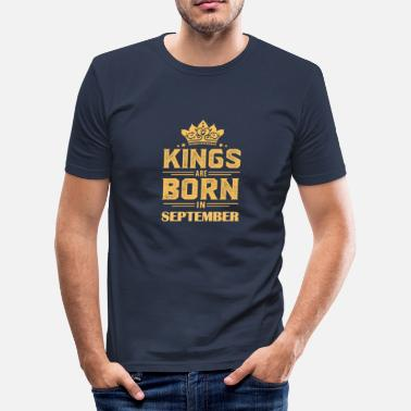 Born In September Gift born in September, Born in September - Men's Slim Fit T-Shirt