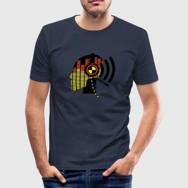 Test sound test dummy - electro - Men's Slim Fit T-Shirt
