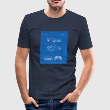 Delorean DeLorean - Men's Slim Fit T-Shirt