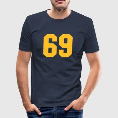 69 69 - Men's Slim Fit T-Shirt