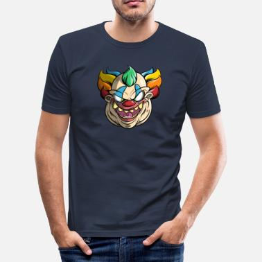 Bad Clown Bad clown - Men's Slim Fit T-Shirt
