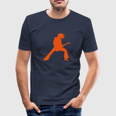 Guitarist - Men's Slim Fit T-Shirt