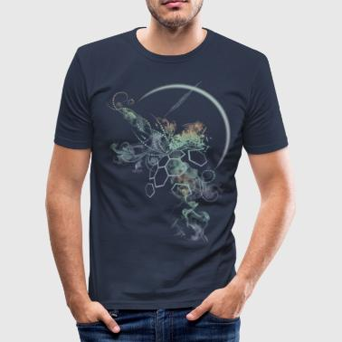 supernova-darkshirt - Männer Slim Fit T-Shirt