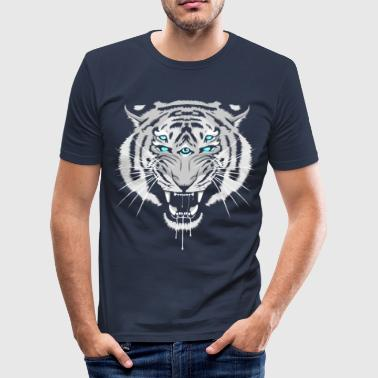 White Tiger Snowblind - Men's Slim Fit T-Shirt