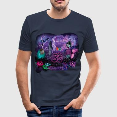 Trippy Aum - slim fit T-shirt