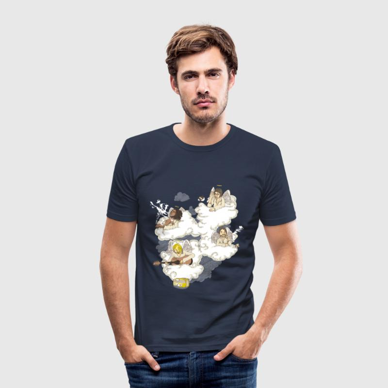 heaven of fame - Men's Slim Fit T-Shirt