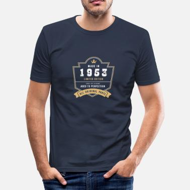 Made In 1953 All Original Parts Made In 1953 Limited Edition All Original Parts - Men's Slim Fit T-Shirt