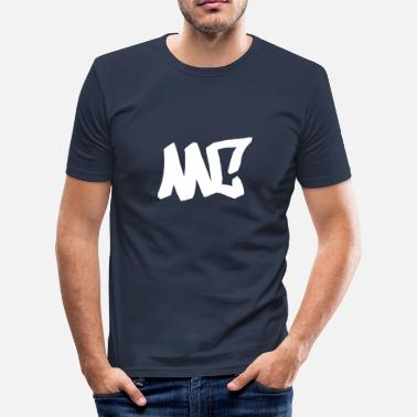 Rap Mc MC - Hip Hop, Rap, Graffiti - Camiseta ajustada hombre