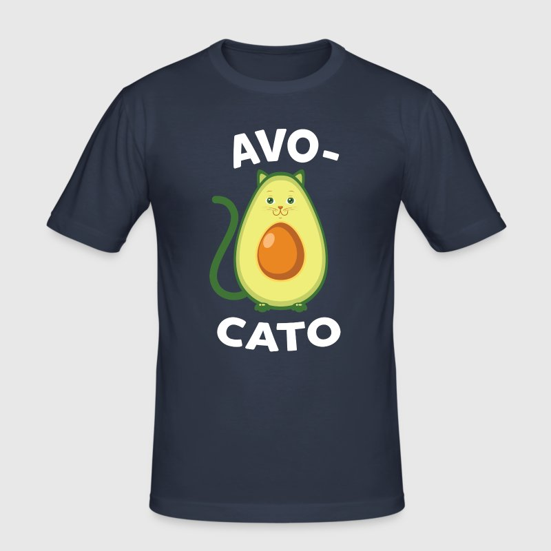 Avocato | Cute Avocado Cat Design - slim fit T-shirt
