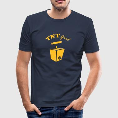 TNT Girl - Men's Slim Fit T-Shirt