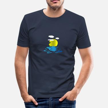 Meer Meer - Männer Slim Fit T-Shirt