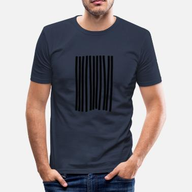 Strips strip - Men's Slim Fit T-Shirt