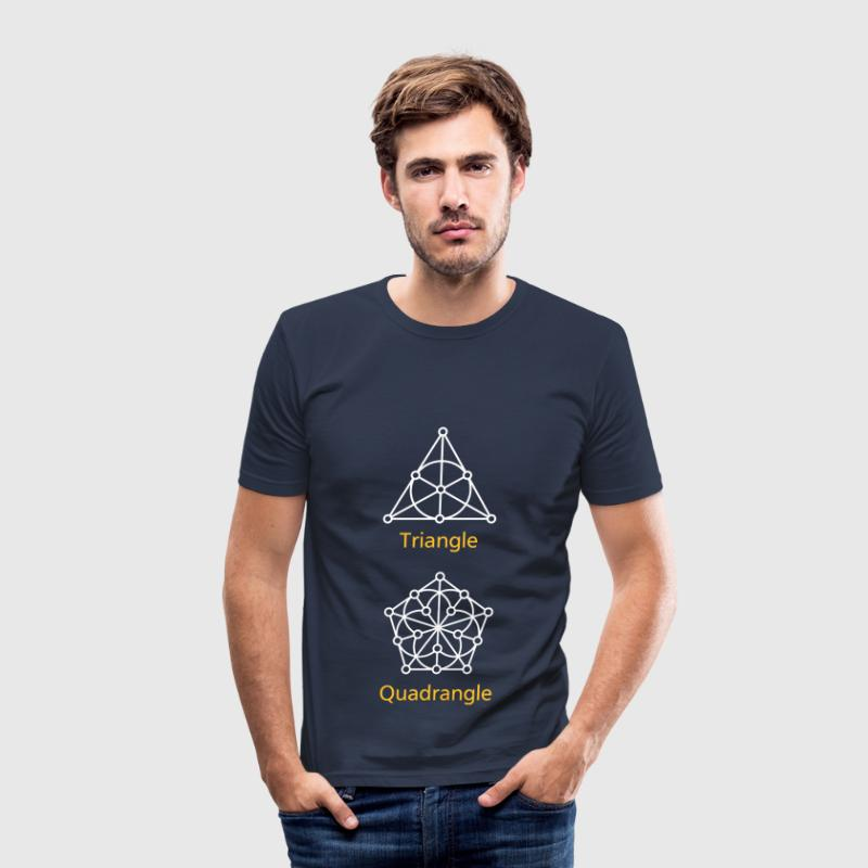 Generalised Polygons - Männer Slim Fit T-Shirt