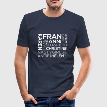 Fran NastyGirls - Männer Slim Fit T-Shirt