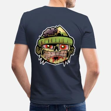 Extreme Zombie Zim - Men's Slim Fit T-Shirt