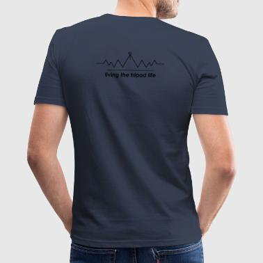 Tripod Life - Men's Slim Fit T-Shirt