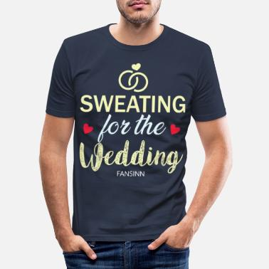 Wedding Party Wedding bachelorette party marriage love gift - Men's Slim Fit T-Shirt