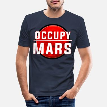 Occupare Occupare Marte - Maglietta slim fit uomo