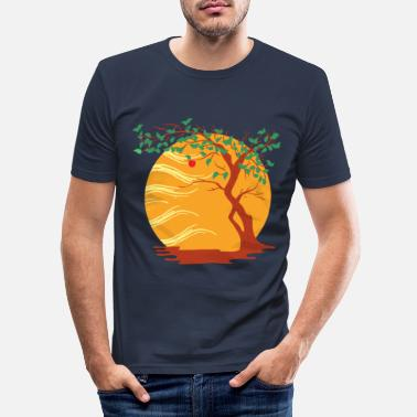 Autumn Autumn time Autumn Autumn beginning - Men's Slim Fit T-Shirt