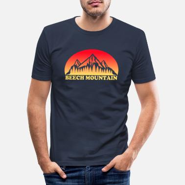 Carolina Beech Mountain North Carolina - Männer Slim Fit T-Shirt