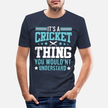 Sport Cricket hold siger - Slim fit T-shirt mænd