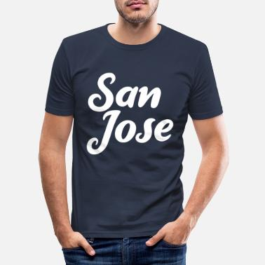 Jose San Jose - Männer Slim Fit T-Shirt