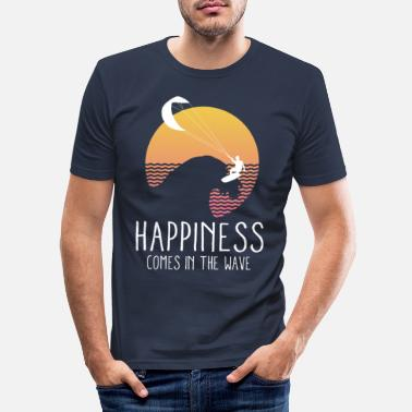 Kite Surfers surfer - Mannen slim fit T-shirt