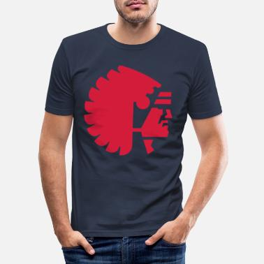 Roots back to the roots - Männer Slim Fit T-Shirt