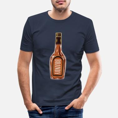 Brandy brandy - Men's Slim Fit T-Shirt