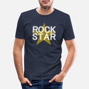 Superstar Rock star shirt Cool Stylish I'm Awesome Tee - Men's Slim Fit T-Shirt