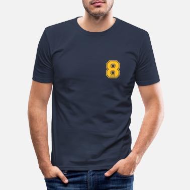 Hilarious 8 inch - Men's Slim Fit T-Shirt