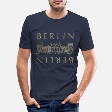 Reichstag Reichstag à BERLIN - T-shirt moulant Homme