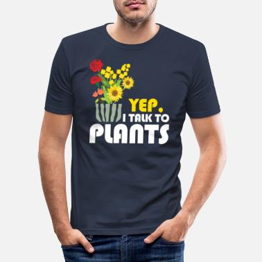 Plant Plants Plants - Men's Slim Fit T-Shirt