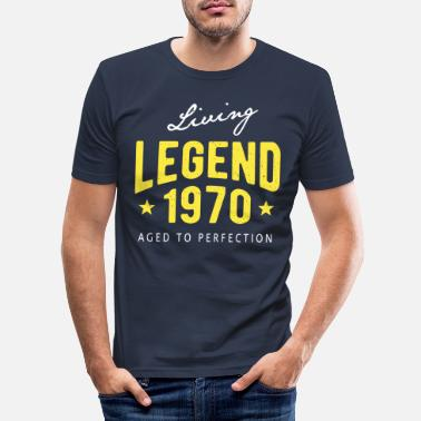Legenda Living Legend 1970 - Miesten slim fit t-paita