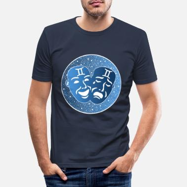 BEAU /& PERSONNAGE betontes shirt dans lilablau 32//34