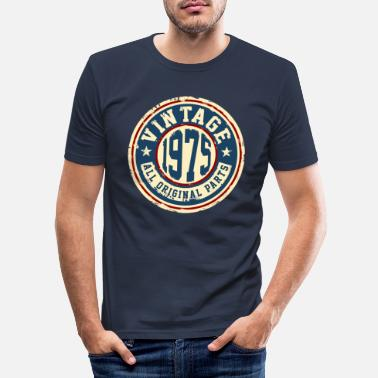 Vintage Vintage 1975 - Men's Slim Fit T-Shirt