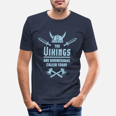 Eirik The Vikings Are Norwegians Called Today - Männer Slim Fit T-Shirt