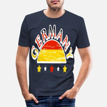 Germany Germany Germany - Men's Slim Fit T-Shirt
