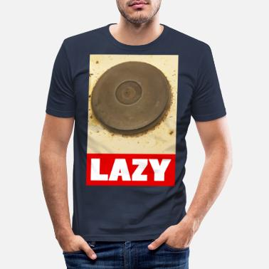 Lat lat - T-shirt slim fit herr