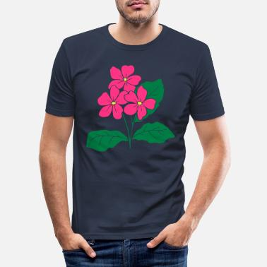 Flowers flowers - T-shirt moulant Homme