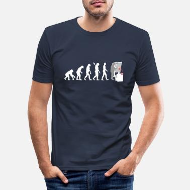 History Evolution Of An Architect - Men's Slim Fit T-Shirt