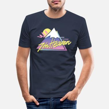 Heaven 7th Heaven - Mannen slim fit T-shirt