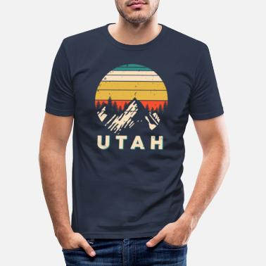 Utah Utah - Männer Slim Fit T-Shirt