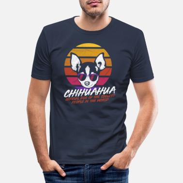 Different Coolest dog Chihuahua - Men's Slim Fit T-Shirt