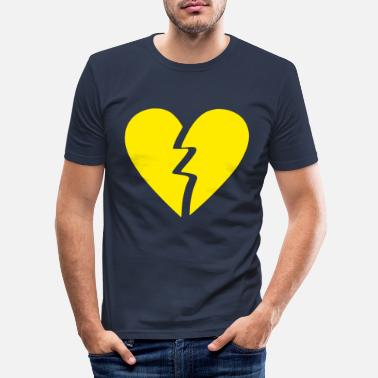 Corazon corazón roto - Männer Slim Fit T-Shirt