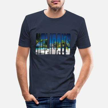 Holidays HOLIDAYS - Men's Slim Fit T-Shirt